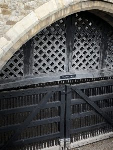 Traitors Gate, The Tower of London